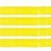 Miyuki Tila Beads 5X5mm 2 Hole Yellow Opaque